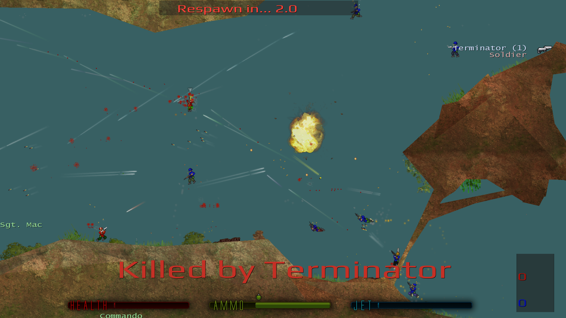 Soldat homepage soldat is an exciting unique side view multiplayer action game played by hundreds of players at this moment it takes the best from games like liero sciox Image collections